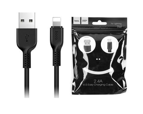 Hoco / Кабель X13 Lightning - USB черный | 1м