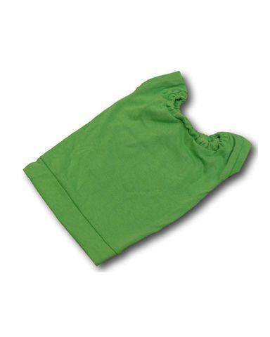 Маленькое трикотажное платье - Зеленый. Одежда для кукол, пупсов и мягких игрушек.