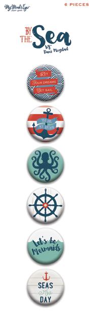 Эпоксидные фишки из коллекции BY THE SEA от My Mind