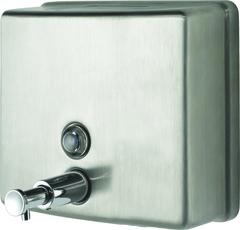 Диспенсер жидкого мыла для общественных туалетов Nofer 03004.S фото