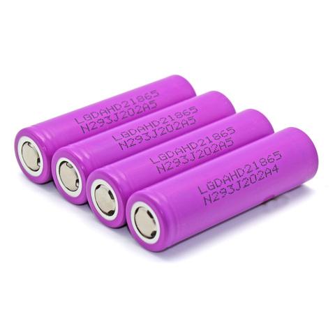 Аккумуляторы 18650 LG-HD2 2000mAh (20A) высокотоковый