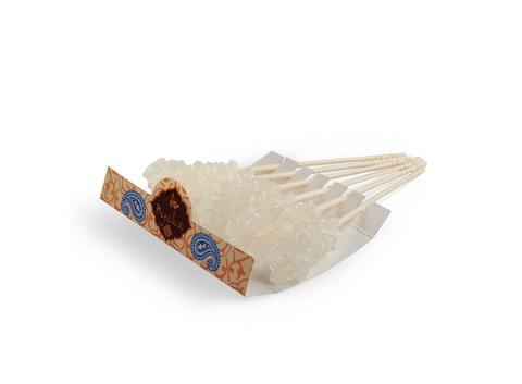 Сахар леденцовый на палочке в упаковке 6 шт (белый, 72 гр.). Интернет магазин чая