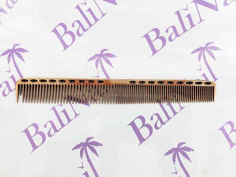 Расчёска профессиональная металлическая (бронза)