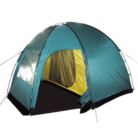 Кемпинговая палатка Tramp Bell 4 (V2) (зеленый)