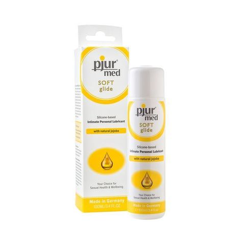Pjur®MED Soft glide, 100 ml Силиконовый лубрикант с жожоба