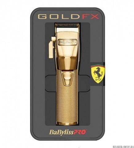 Машинка для стрижки BaByliss Pro GoldFX, 0,8 -3,5 мм, аккум/сетевая, 8 насадок
