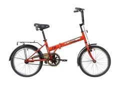 Складной велосипед Novatrack TG-30 красный