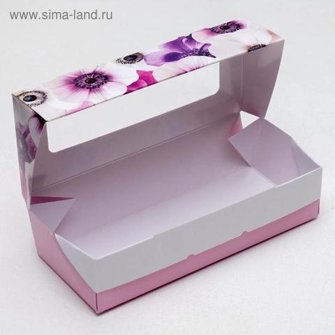 Коробка складная «Цветочное настроение», 17 × 7 × 4 см