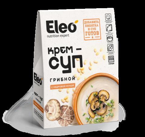 Крем-суп грибной с кедровой мукой
