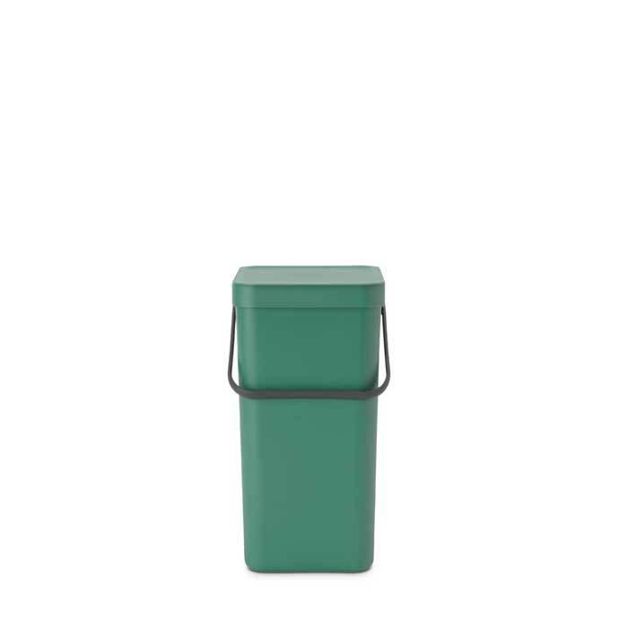 Встраиваемое мусорное ведро Sort & Go (16 л), Темно-зеленый, арт. 129827 - фото 1