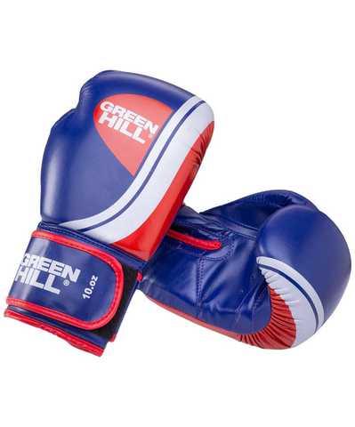 Перчатки боксерские Knockout синие