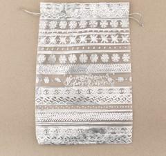 Мешочек подарочный органза «Волшебного Нового Года!», 10 × 12 см, 5 шт.