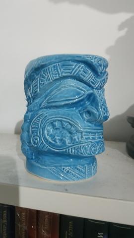Тотем. Керамическая кружка ручной работы