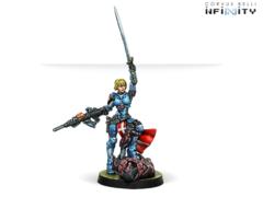 Joan Of Arc (вооружена MULTI Rifle)