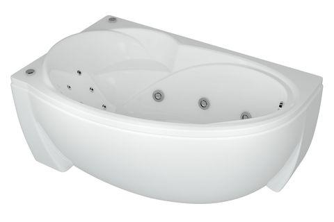 Ванна акриловая Aquatek Бетта 150х95см. на каркасе и сливом-переливом левая/правая