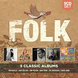 Сборник / 5 Classic Albums: Folk (5CD)
