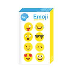 Маркеры для бокалов Emoji 8шт., фото 3