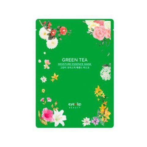 Тканевая маска для лица - зеленый чай EYENLIP Moisture Essence Mask 25ml