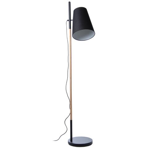 Лампа напольная Hideout, черная