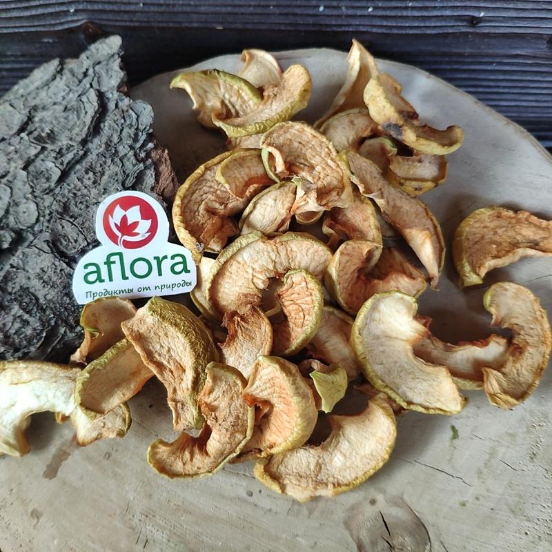 Фотография Яблочные дольки сушеные, 250 г. купить в магазине Афлора