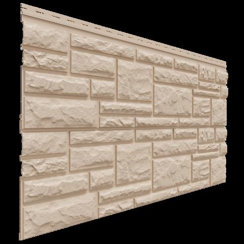 Фасадные панели (Цокольный Сайдинг) Доломит Rockvin Орех