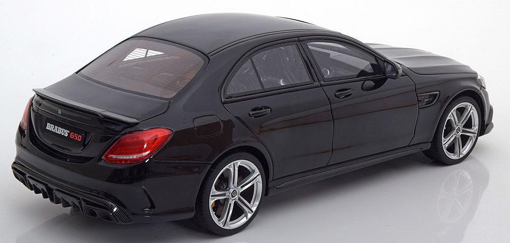 Коллекционная модель Mercedes-Benz Brabus 650 2017 Sedan Black