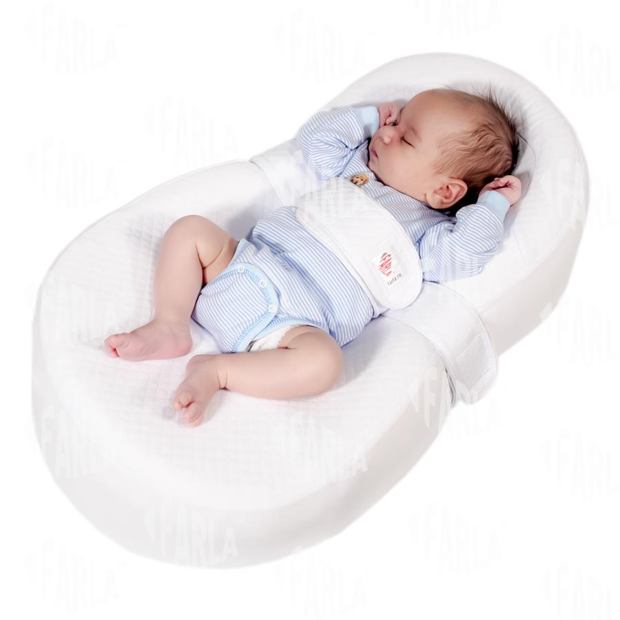 Кокон позиционер Кокон-люлька для новорожденного Farla Baby Shell cocoona_baby.png