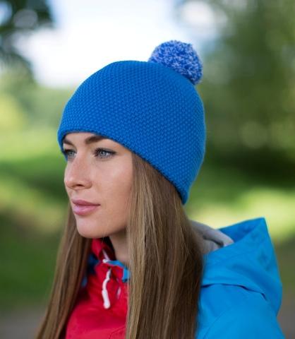 Лыжная шапка Nordski Knit синяя