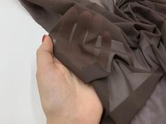 Сетка эластичная шоколад (метражом)