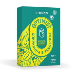 Спирулина в таблетках Ritmico Optimist по 250 мг