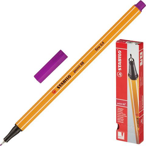 Линер Stabilo Point 88/55 фиолетовый (толщина линии 0.4 мм)
