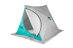 Зимняя палатка автомат Helios Delta Комфорт трехслойная двускатная