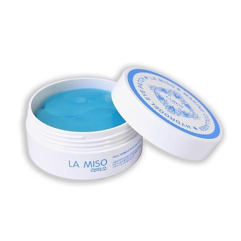 La Miso Hyaluronic Acid Hydrogel Eye Patch гидрогелевые патчи с гиалуроновой кислотой для кожи вокруг глаз