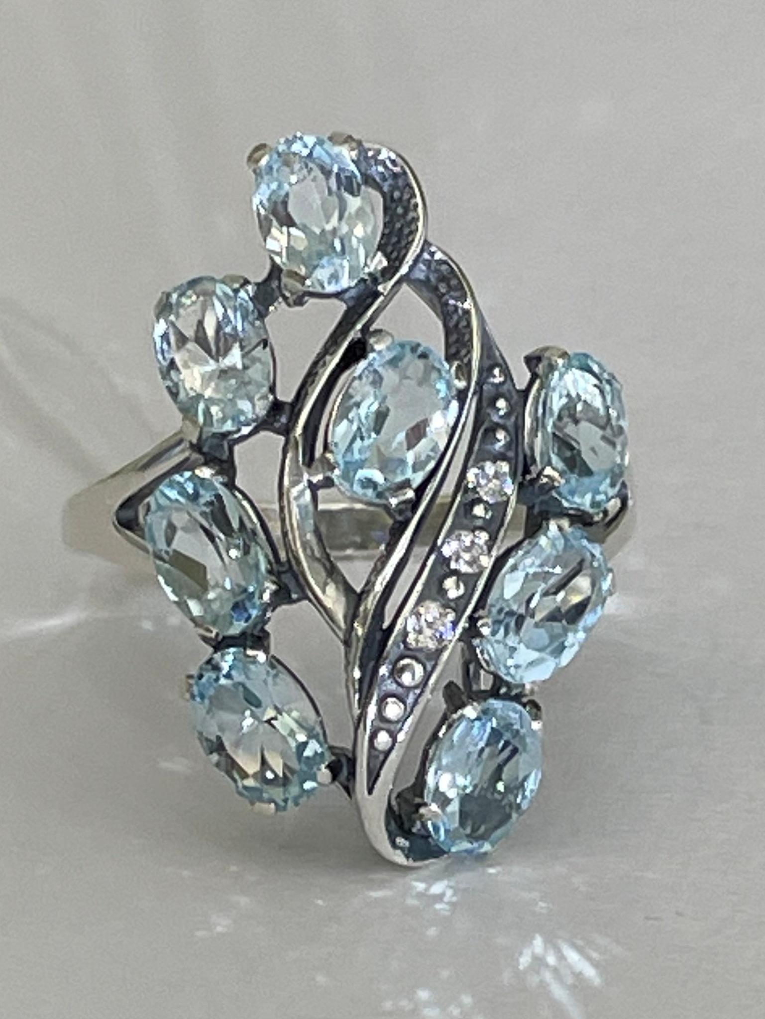 Марель (кольцо из серебра)