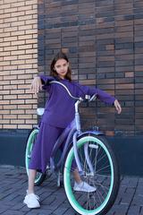 Костюм детский 24/7 kids, цвет фиолетовый