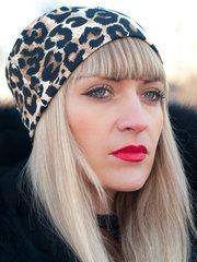 Фешн. Молодіжні жіночі шапки. Леопард.