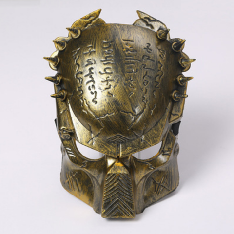 Маска Predator в золотом цвете