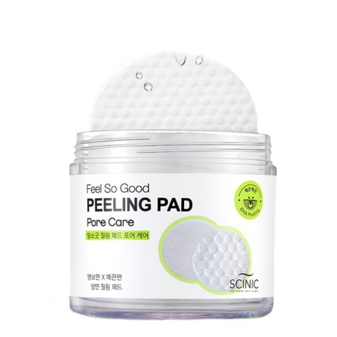 Пилинг-пэды с BHA-кислотами Scinic Feel So Good Peeling Pad (Pore Care)