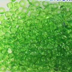 50430 Бисер 6/0 Preciosa прозрачный зеленый