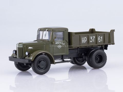 MAZ-205 dump truck khaki 1:43 Our Trucks #28