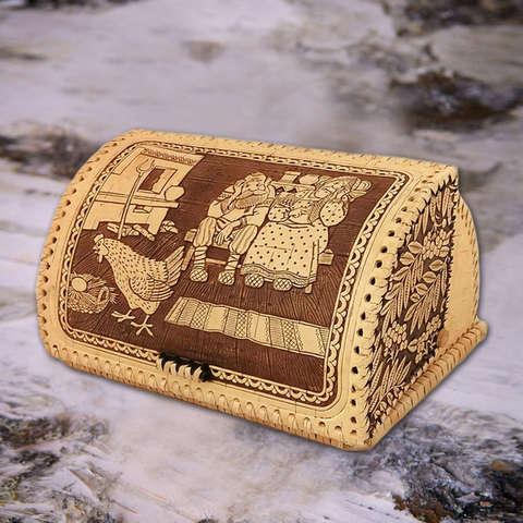 Хлебница шлем Курочка Ряба гладкая малая