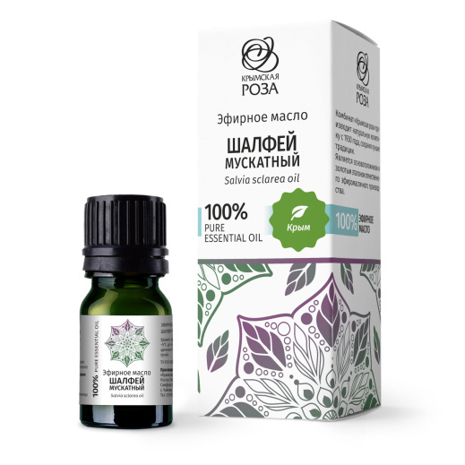 Эфирное масло Шалфей мускатный / Крымская роза, 5 мл
