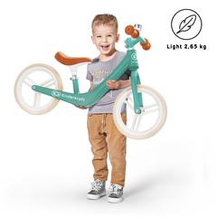 Беговел Kinderkraft Fly Plus Midnight Green