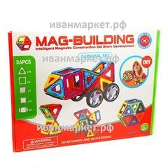 Магнитный конструктор 36 деталей Mag Building