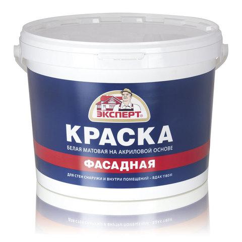 Краска ЭКСПЕРТ фасадная ВДАК-1180 (3-3,5кг)