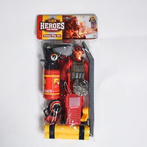 Набор пожарный с огнетушителем в пак.