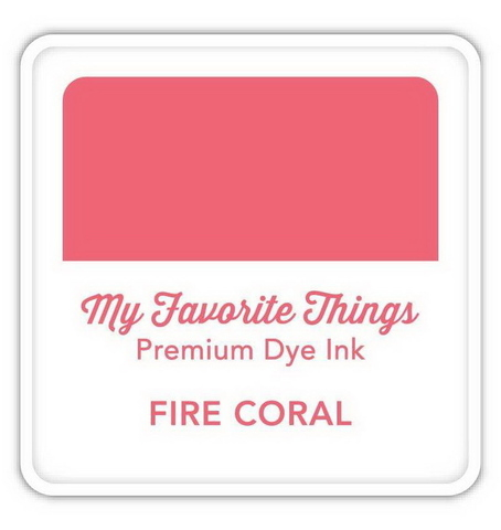 Чернильная подушечка My Favorite Things - FIRE CORAL