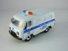 UAZ-3741 DPS Road Police 1:43 Agat Mossar Tantal