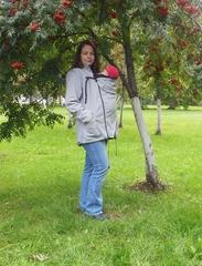 Куртка/жилет для слингоношения MaM Two-Way Deluxe Jacket Серый Голубь