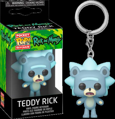 Мишка Рик- Рик и Морти || POP! Keychain Teddy Rick